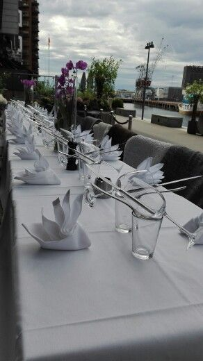 Table ready for Alex Sushi