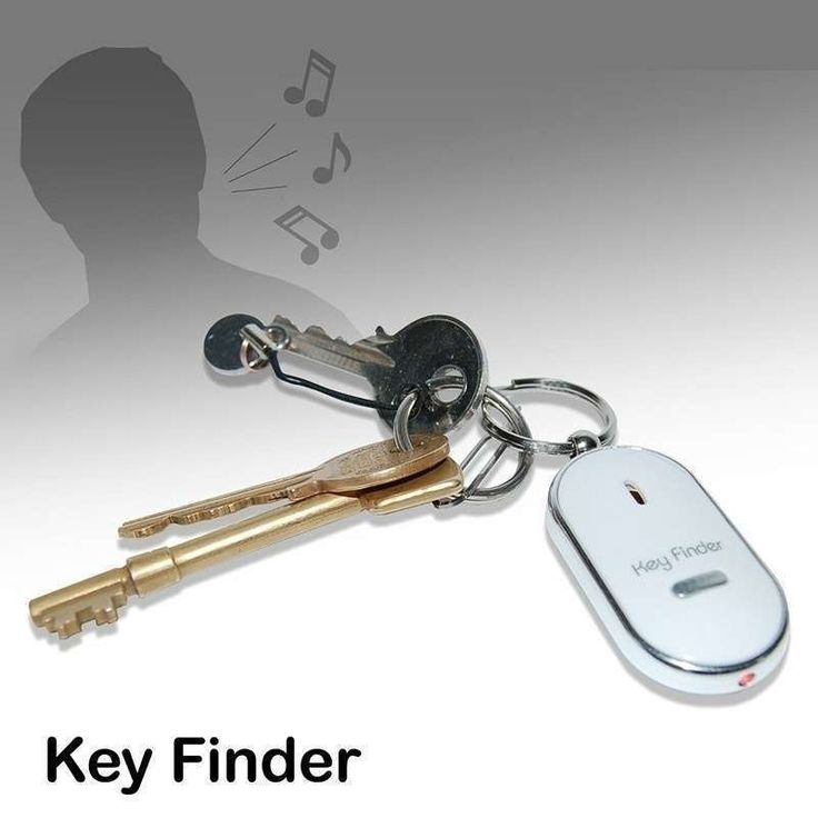 Fashion Whistle Key Finder Flashing Beeping Remote Lost Key Finder Locator Key Ring : Description . 100% Brand New   Small in size, portable and conv.