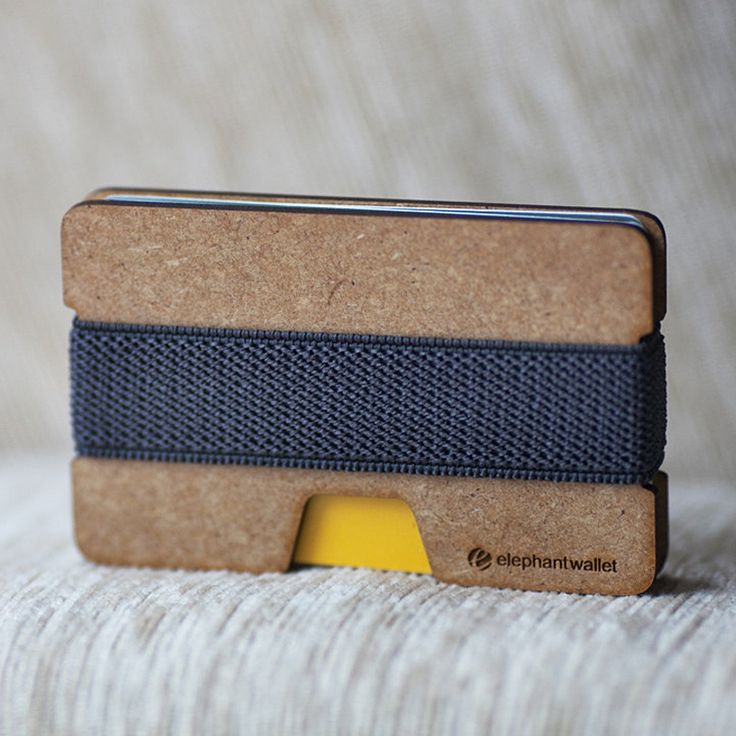 Wooden Ultra Slim Wallet | dotandbo.com