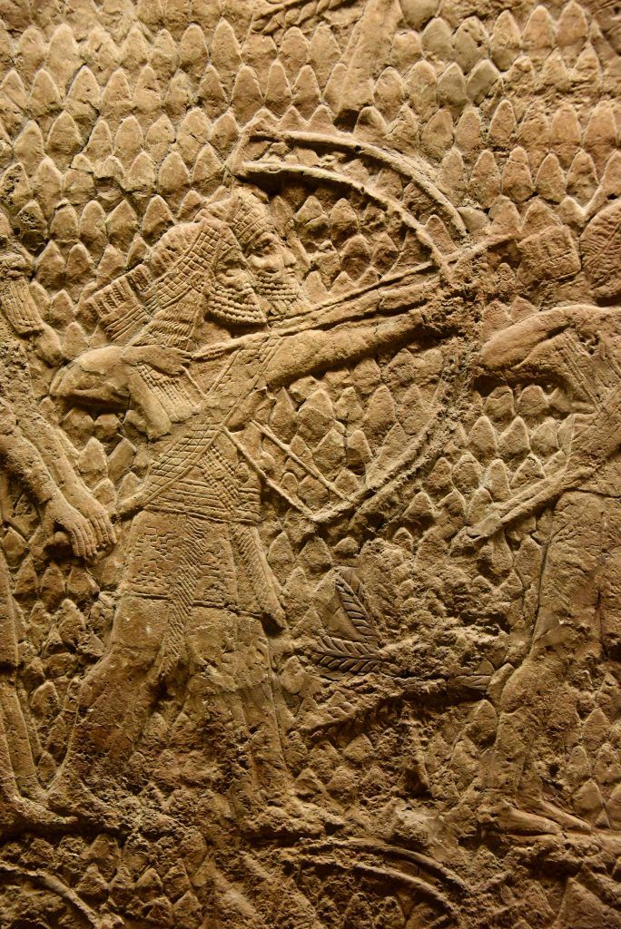Siege of Lachish Reliefs at the British