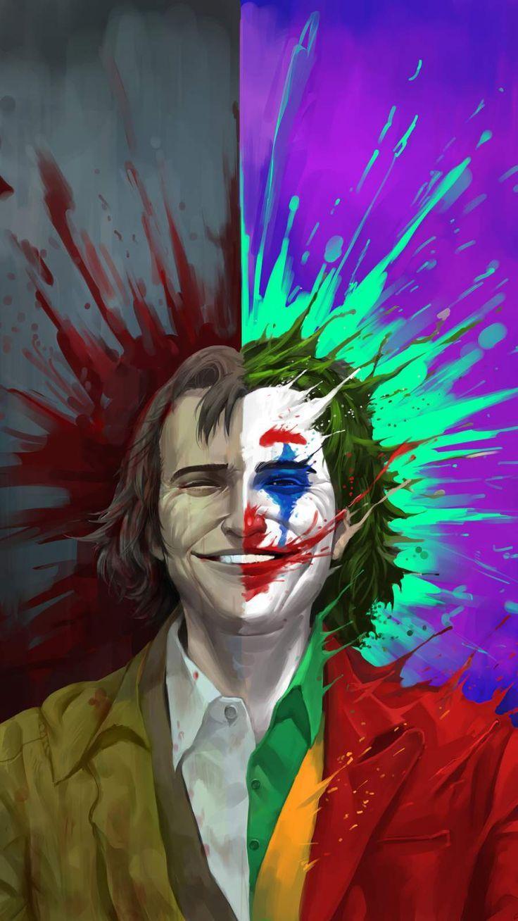 Arthur Fleck Vs Joker Iphone Wallpaper Joker Smile Joker Iphone