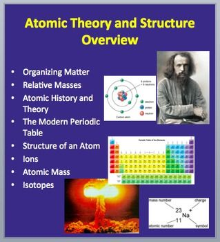 This 30 slide chemistry lesson package discusses Matter, Relative Masses, Atomic History and Theory, The Periodic Table, The Atom, Ions, Atomic Mass and Isotopes. There are THREE videos embedded into the PowerPoint as well as a number of practice questions to keep your students engaged throughout the lesson and the answers are included on the teacher version. It is geared towards students who are in high school chemistry, either junior or senior years. The PowerPoint contains diagrams…