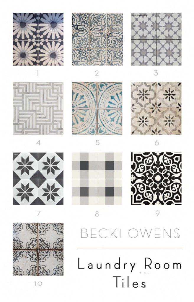 Meine lieblings Waschküche Fliesen – Becki Owens