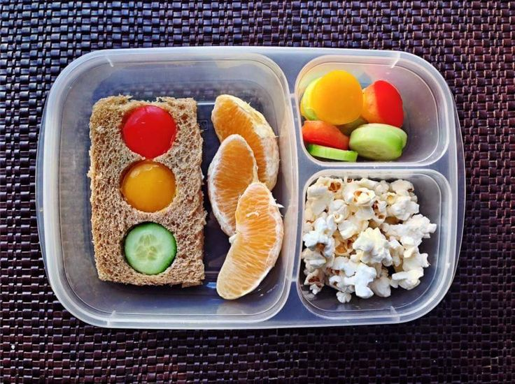Fun lunch idea: Stop light lunch box!