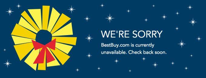 Best Buy's Website Crashes Hard On Black Friday