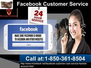 Whew! Free!! Free!!Facebook customer service 1-850-361-8504 now in USA	The Facebook Customer Service is a supportive client service which is obtainable in every nook and corner around the world. Once the Facebook account holders experience any real-time Facebook problems, then the Facebook users are suggested to put their cell phone to the best use by calling at number 1-850-361-8504 which is the free phone service workable throughout the globe. For more information take a look at…
