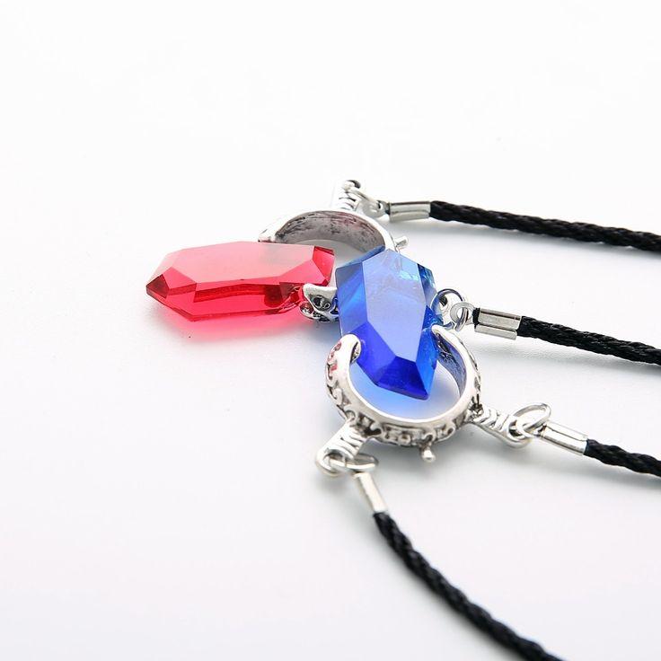 Ozean Anime Spiele DMC Devil May Cry 5 Kristall Halsketten & Anhänger Zink-legierung Leder Kette Anhänger Halskette Für frauen Männer