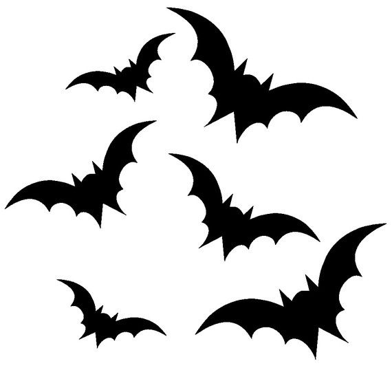Use this set of 42 bats to create freight factor to your spooky holiday decor as part of our Halloween Collection! These decals can go on