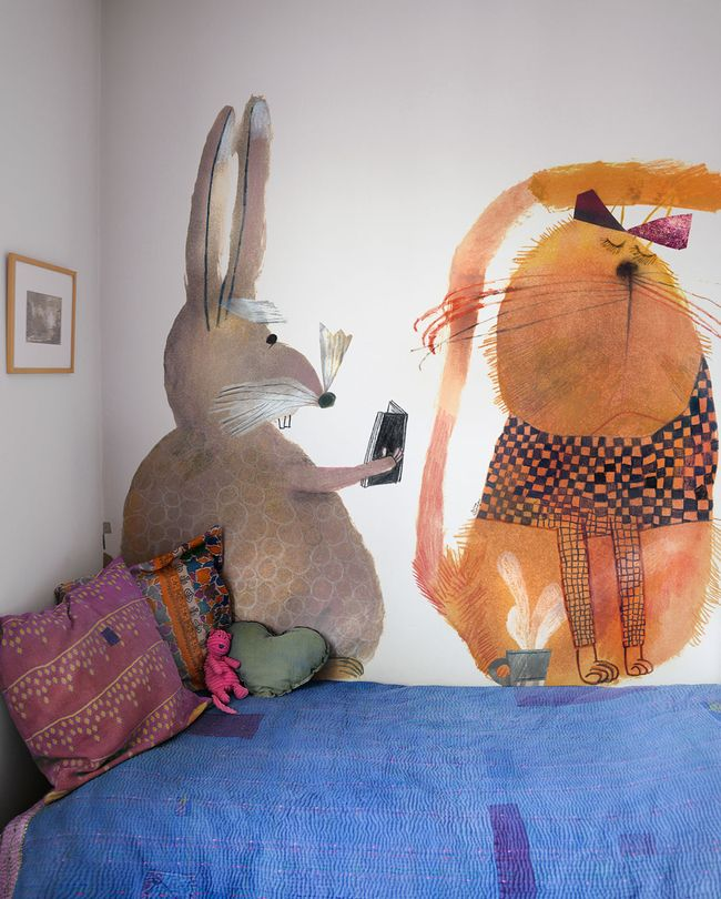 Papiers peints Bien Fait x Béatrice Alemagna   MilK - Le magazine de mode enfant
