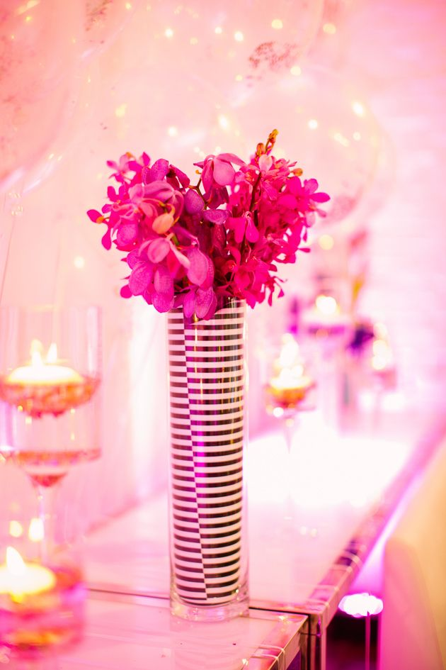 Colorful Kate Spade Inspired New Year's Eve Ideas Photography: Caitlin Thomas Photography Venue: Mattress Factory Museum Design: {SHE} Shayla Hawkins Events:: Floral Design: Mocha Rose Floral Designs Floral Distributor: Mayesh Wholesale Florist Rentals + Furniture: All Occasions Party Rental Linens: Party Mosaic DJ: Jeremy Ganss Production - Elegant Wedding Service Cake Design + Sweets: Bella Christie's Videography: ShoFilms Stationery: Diva Gone Domestic Hair + Makeup: Emma + Suzanne