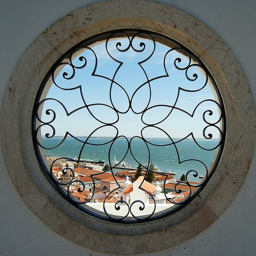 Amazing window with an amazing view