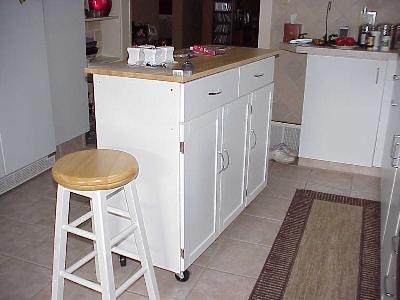 $249, 48 X 18 X 36. Also Comes In Black.Extra Large Kitchen