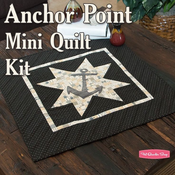 .Anchor Point Mini Quilt.