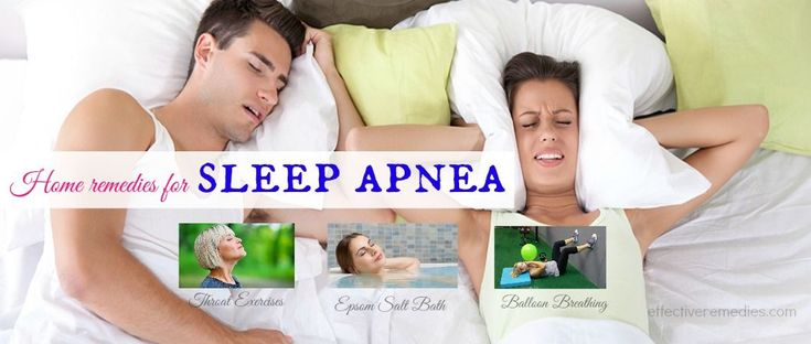 Natural home remedies for sleep apnea suggest top 21 ways to get relief from sleep apnea in toddlers & adults at home.