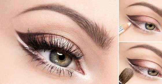 Žiarivé líčenie pre modrosivé oči • Akadémia Krásy