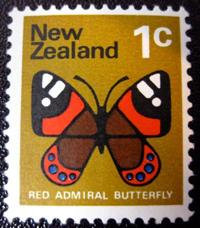 NZ 1 cent stamp - I have some of these in my stamp collection I think!