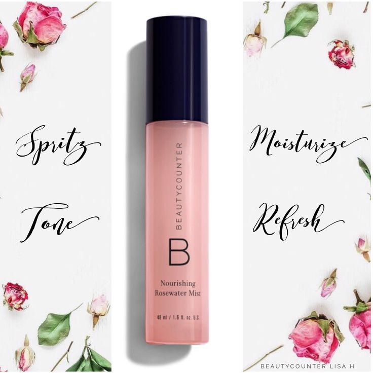 Spritz on our Nourishing Rosewater Mist for a variety of uses. It smells so good!! It is a terrific skin toner, make-up setting spray, body mist (without harmful synthetic fragrance),hydrates your face, reduces bacteria for fewer breakouts and acne, hydrates dry, frizzy hair, takes the sting out of insect bites, and Soothing sprayed on a sunburn! Quick tip: Try cooling your Rosewater Mist in the fridge for an ultra-refreshing feel. Summer is coming, enjoy a cool spritz!