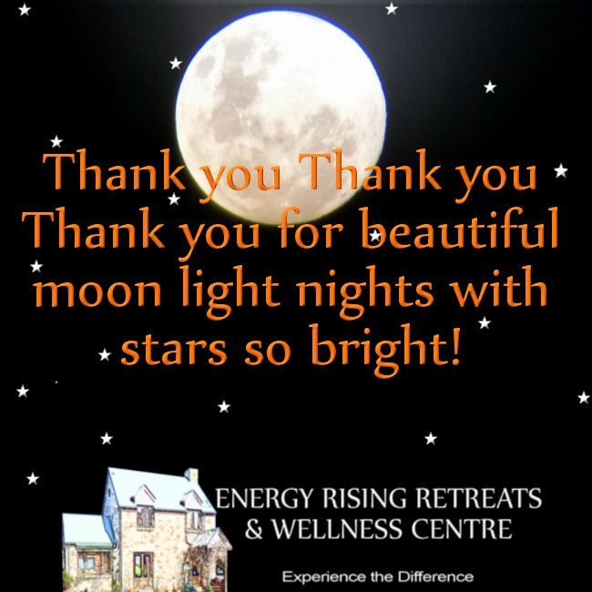 Thank you Thank you Thank you for moon light nights! https://www.facebook.com/EnergyRisingRetreatsAustralia/