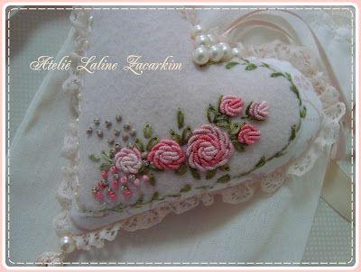 Workshop Laline Zacarkim: Heart Embroidery