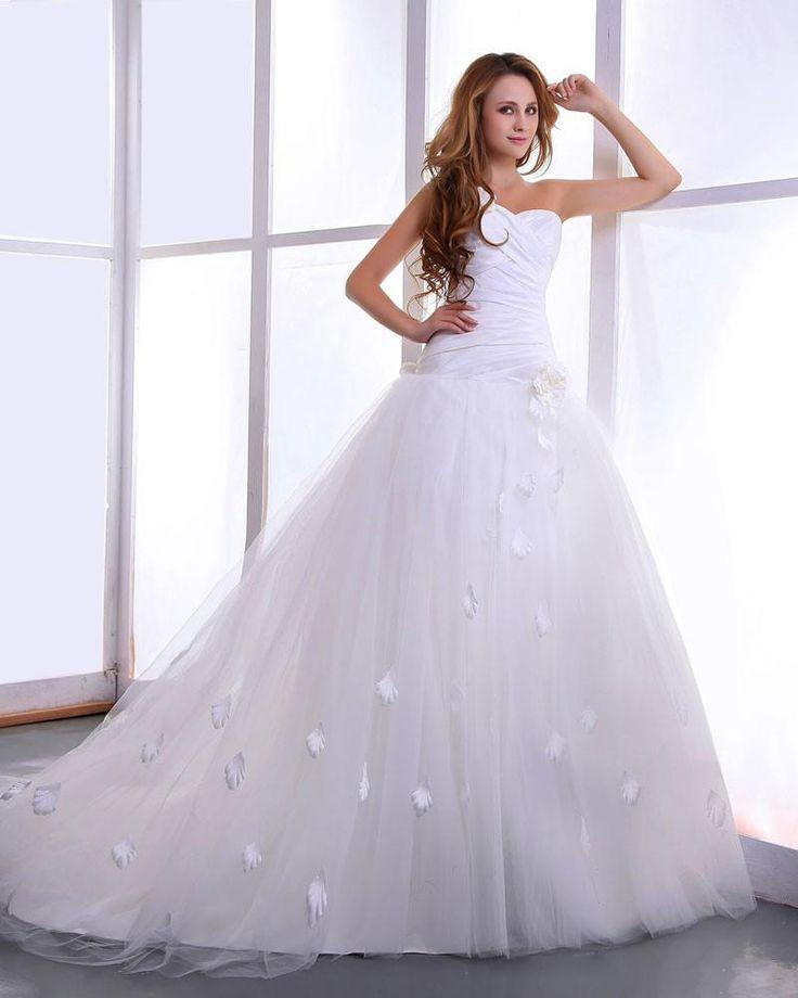 178 besten Wedding dresses Bilder auf Pinterest | Hochzeitskleider ...