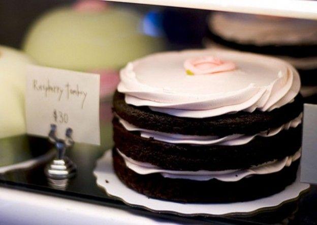 Nuda per il matrimonio? Sì se si tratta della torta!