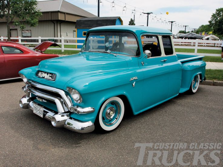 1956 Gmc Extended Cab Truck