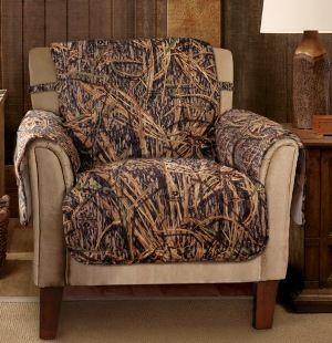 Sofa Mart Jeffrey Home Mossy Oak Shadow Grass Chair Protector