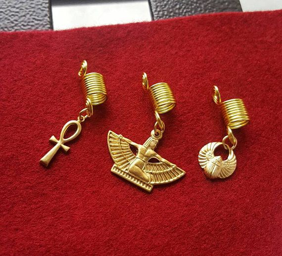 Hey, I found this really awesome Etsy listing at https://www.etsy.com/ca/listing/524023660/egyptian-loc-jewelry-set