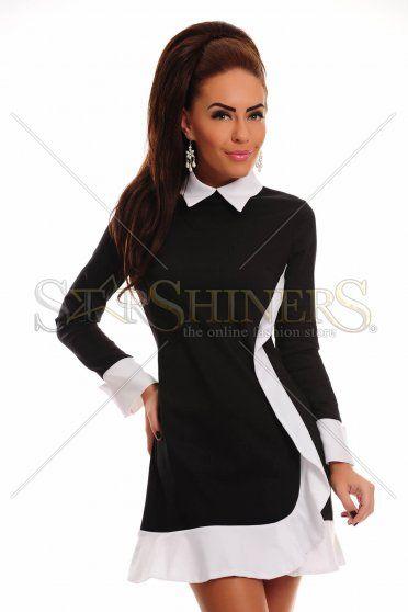 Elegant Sensation Black Dress