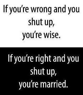 Marriage: Laughing, Shutup, Marry Life, Truths, Funny Stuff, Funny Quotes, Humor Quotes, Shut Up, True Stories