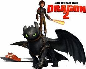 How To Train Your Dragon 2 Ionix Mini Figure Nightfury Pre-Order ships May