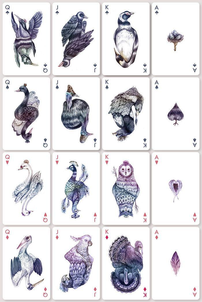 Красивые игральные карты / Иллюстрации / Funtema — развлекательная сеть