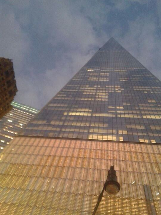 New World Trade Centre from a lil person's view