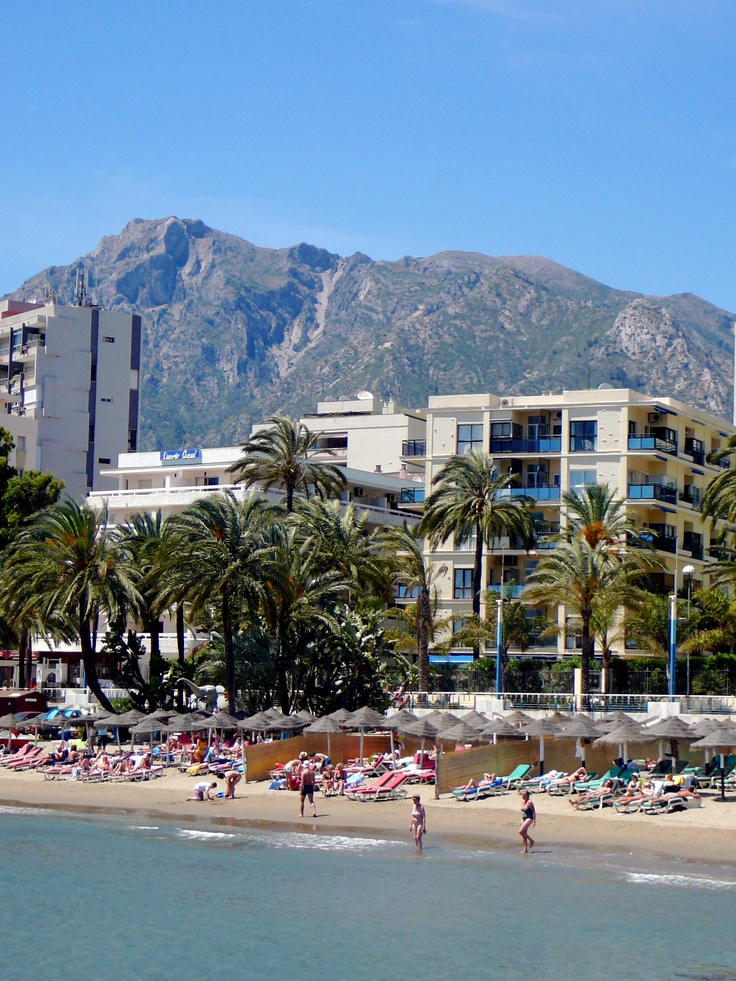 Marbella - Puerto Banus : Is southern Spains answer to St Tropez. This is the best place in the world for work,rest and play mostly for the very rich,aristocrats to boozed up revellers spraying expensive magnums of Cristal champagne.