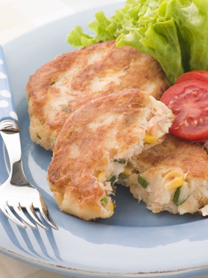 These cod and corn fritters make a nice change from the easy fish recipes you might be more used to making. You do not have to use cod for them; you can use any white fish. You will need cooked cod for making this fish fritters recipe so if you have leftover cooked fish instead, you can use that for the same results.