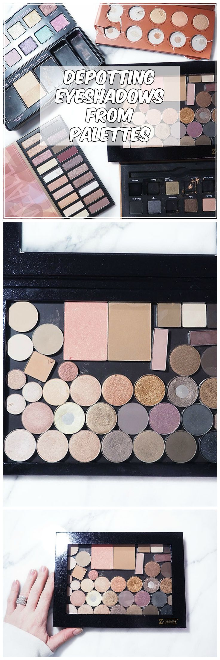 How To Depot Eyeshadows and Use a Z-Palette — Pretty Shiny Sparkly