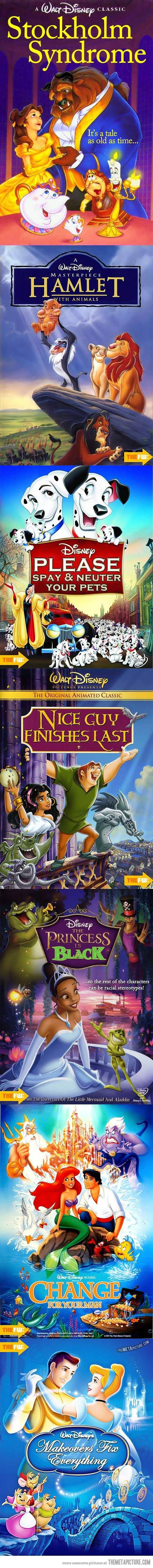 What If Disney titles where really honest?