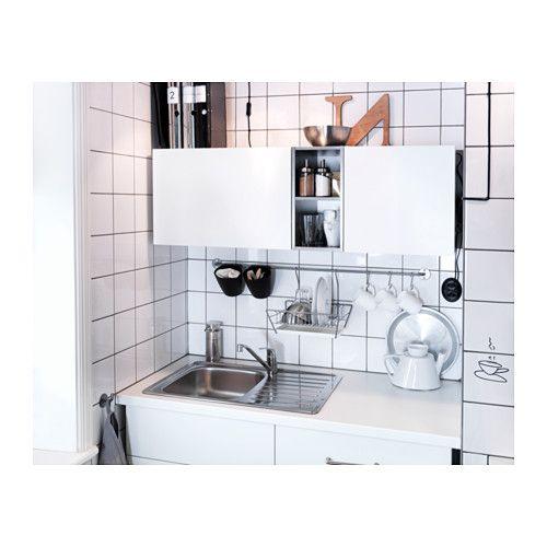 FYNDIG Inbouwspoelbak 1 bak&afdruip  - IKEA