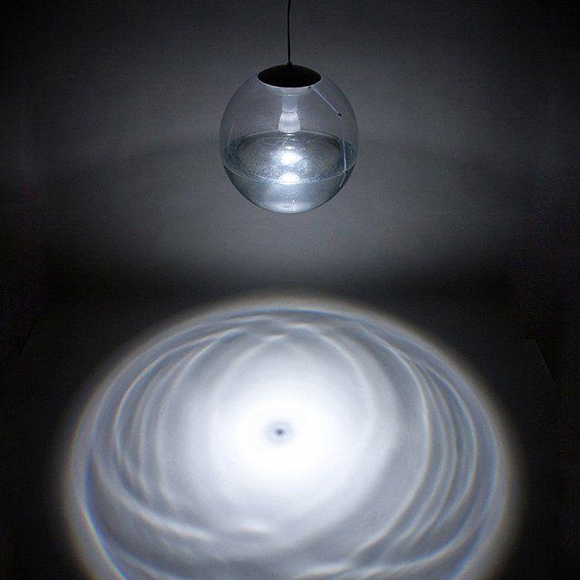 Rain Ripple Lamp #Lamp, #Project, #Rain, #Unique