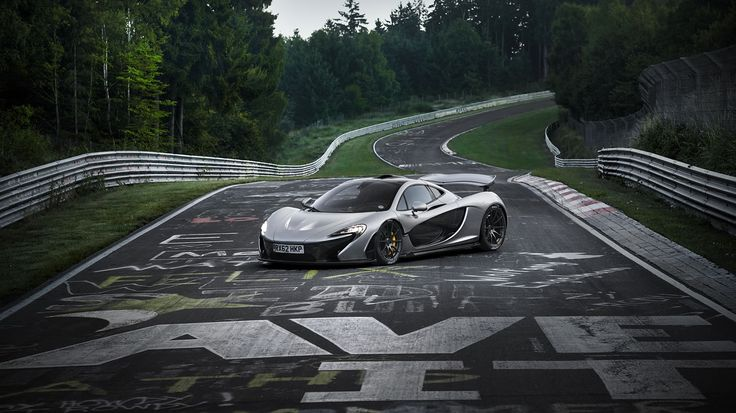 2014 McLaren P1 on Nurburgring Nordschleife Wallpaper - to see other resolutions visit http://www.rssportscars.com/wallpapers/2014-mclaren-p1-nurburgring-1366x768
