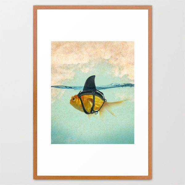 "Brilliant DISGUISE Framed Art Print - 26"" x 38"" - $145"