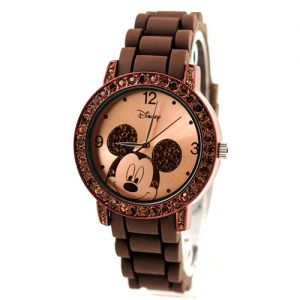 Disney Mickey with Rhinestones Women's Watch MK1182 (Brown) for only ₱2,099.00 Visit our website @ http://luxuryoutlet.ph/ for more info  Facebook: https://www.facebook.com/luxuryoutletPH Instagram: http://instagram.com/luxoutletph Twitter: https://twitter.com/luxuryoutletph