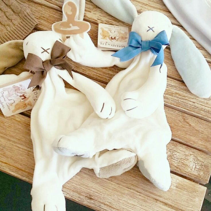 Lovely Bunny cuddly comforters. Best baby gifts,  organic cotton. We've just delivered to lovely www.archieandevie.com.au ❤️❤️❤️