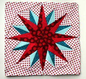 paper piecing star block 1