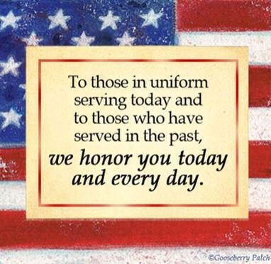 Honoring Those Who Serve Today