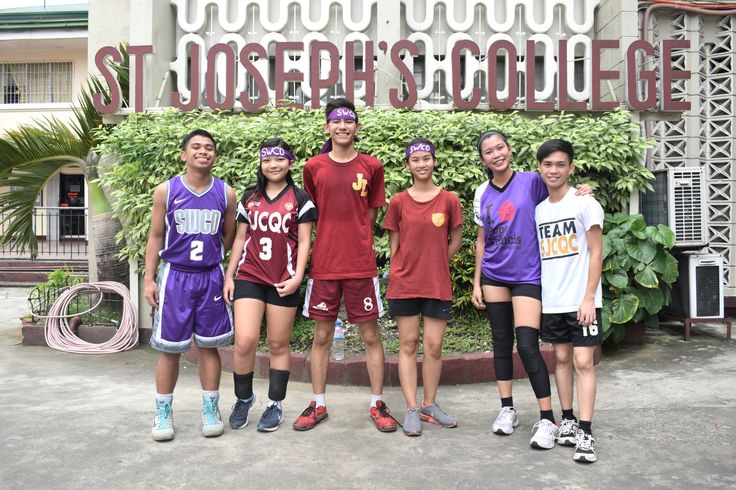 Volleyball Team of Social Work Community and Development Club from Saint Joseph's College #Sportsfest2017