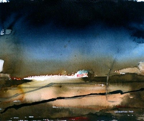 """""""Lys låve"""" (Hus og skur series) by S.O. Sivertsen"""