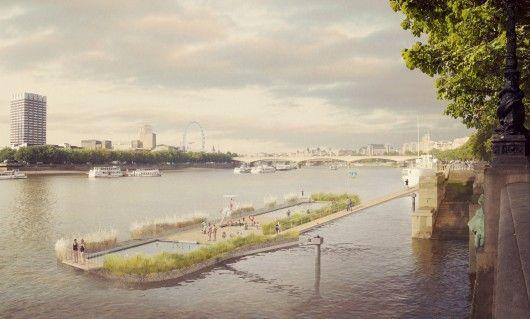 Comment exploiter les fleuves et en faire des lieux de vie ? Exemple de projet à Londres.