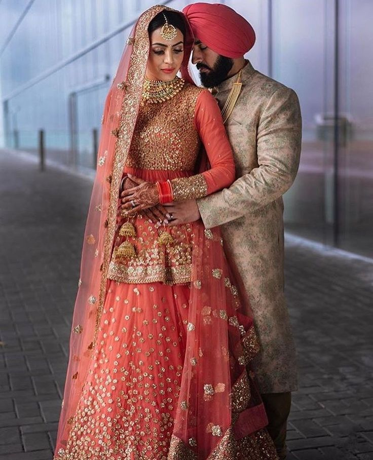 Punjabi wedding dress pictures - Best dresses collection