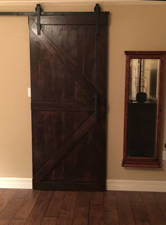 Barn Door British Brace Style Custom By DoorsByDeborahAnne
